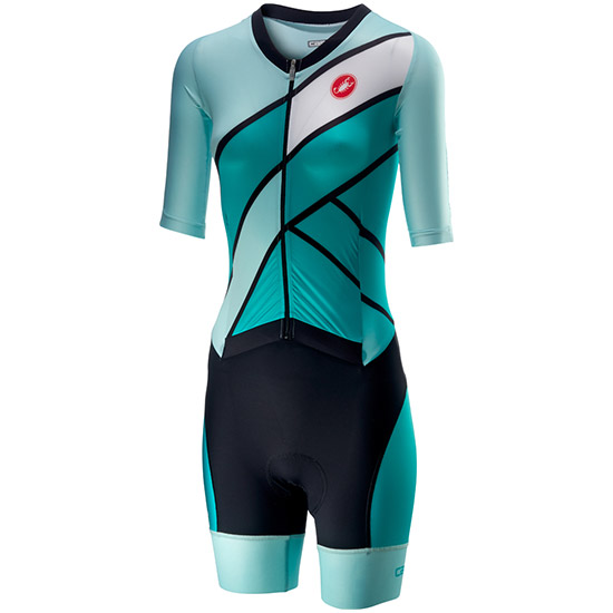 Body Castelli All Out Speed Suit - Turchese Per Donna