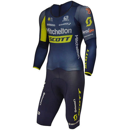Body Giordana FR-C Pro Chrono suit Ls Mitchelton Scott Asia tour Per Donna