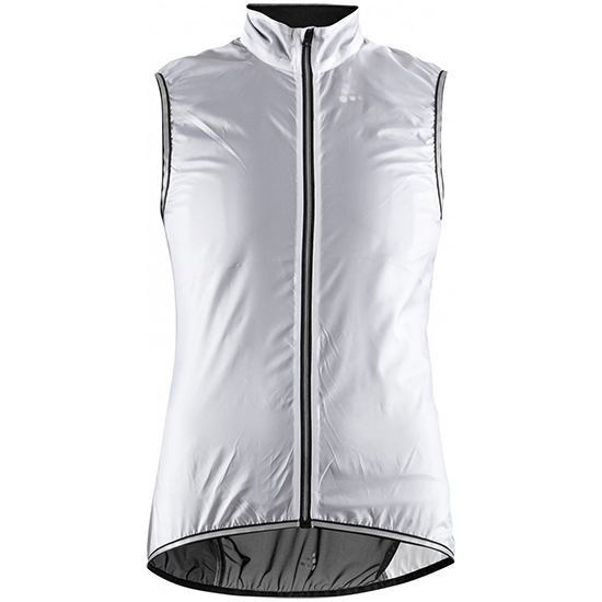 Gilet antivento Craft Lithe - Bianco Per Donna