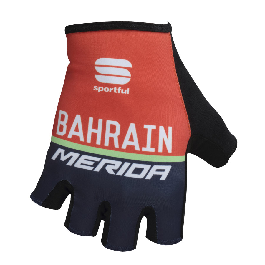 Uomo Guanti Race Team Bahrain Merida 2017