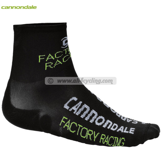 Uomo Calze Cannondale Factory Racing - Nero