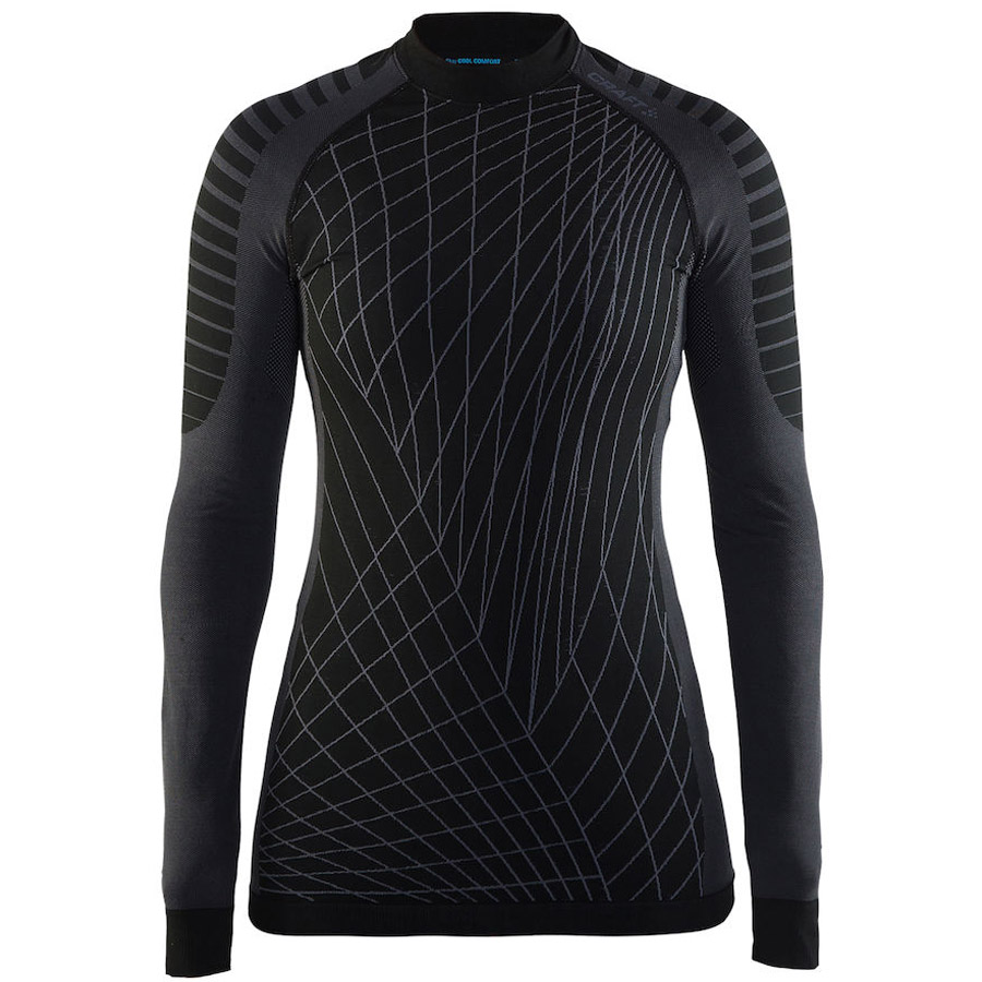 Donna Maglia Intima ML Craft Active Intensity - Nero Grigio