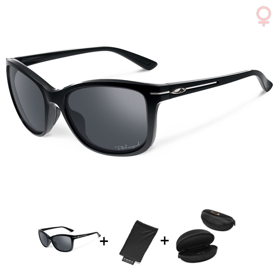 Uomo Occhiali Oakley Drop In - Polished Black Black Iridium