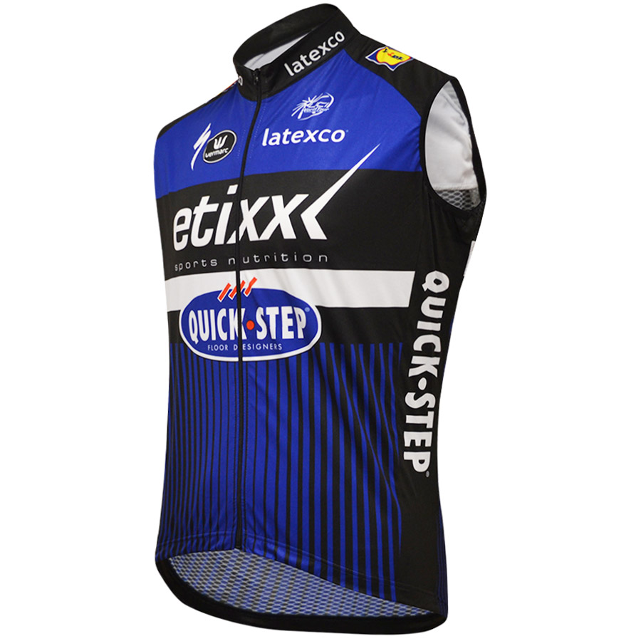 Uomo Gilet antivento Etixx Quick Step 2016