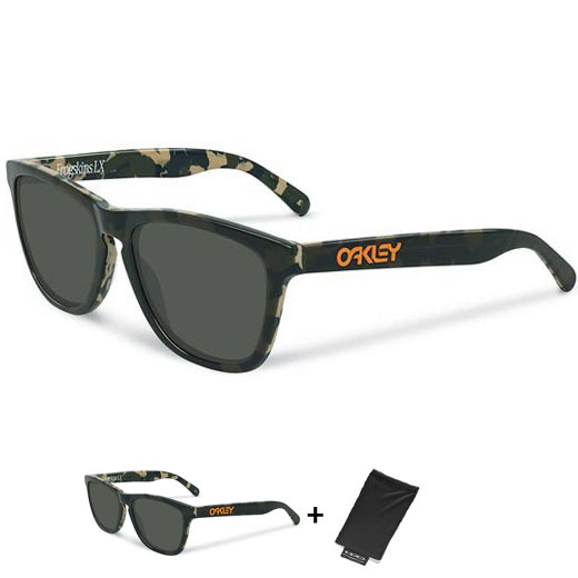 Uomo Occhiali Oakley Frogskins LX - Koston Night Camo