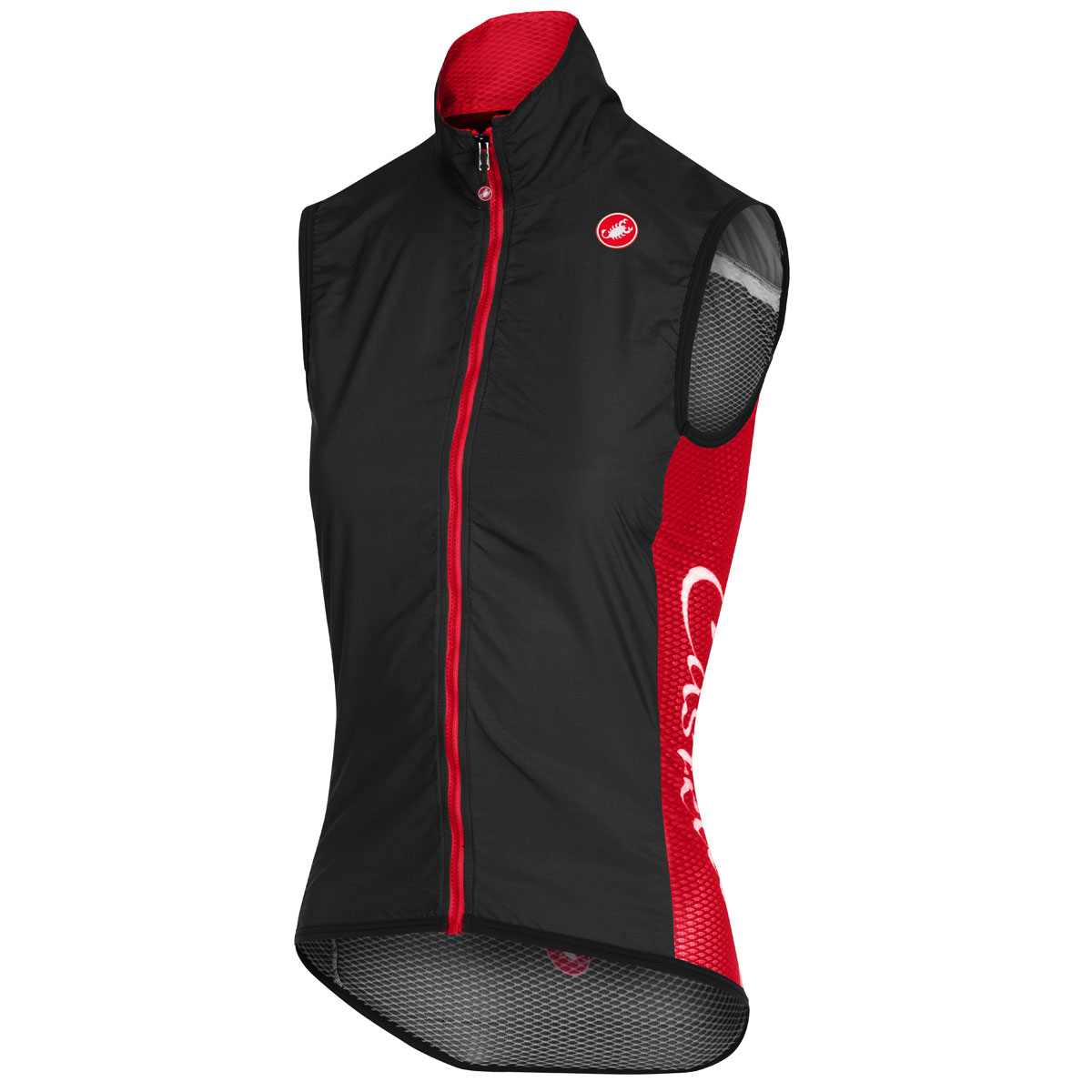 Donna Gilet Castelli Pro Light Wind - Nero