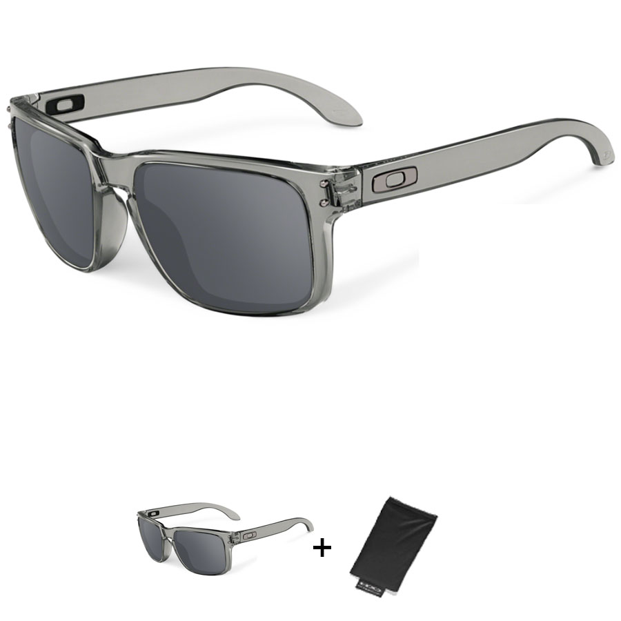 Uomo Occhiali Oakley Holbrook - Grey Ink Black Iridium