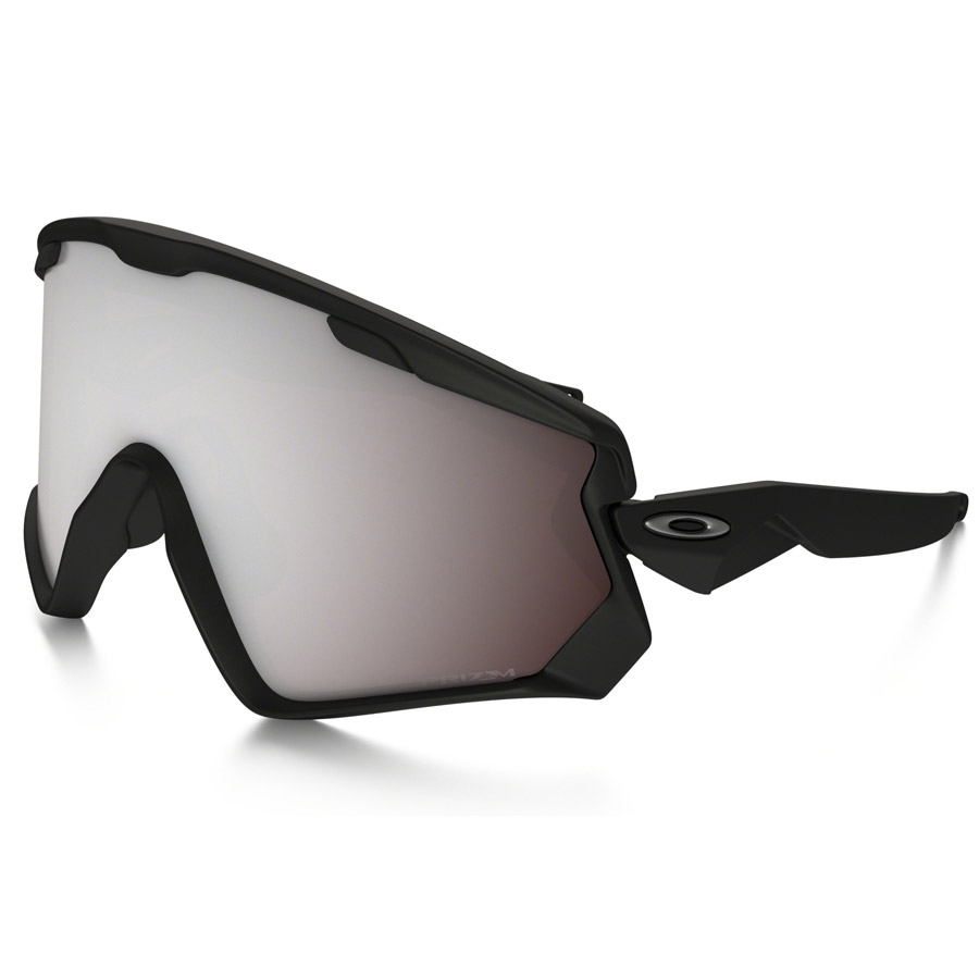 Uomo Occhiali Oakley Wind Jacket 2.0 - Matte Black Prizm Snow Black Iridium