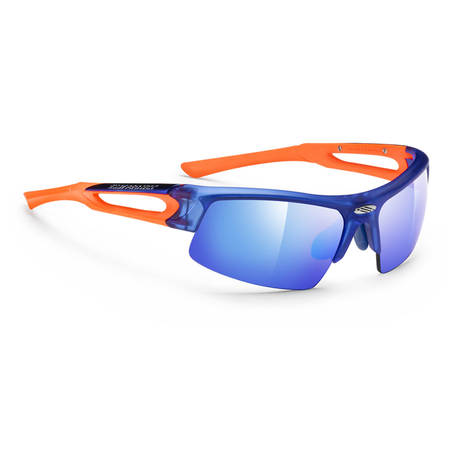 Uomo Occhiali Rudy Exowind Blue Orange - Multilaser Blue