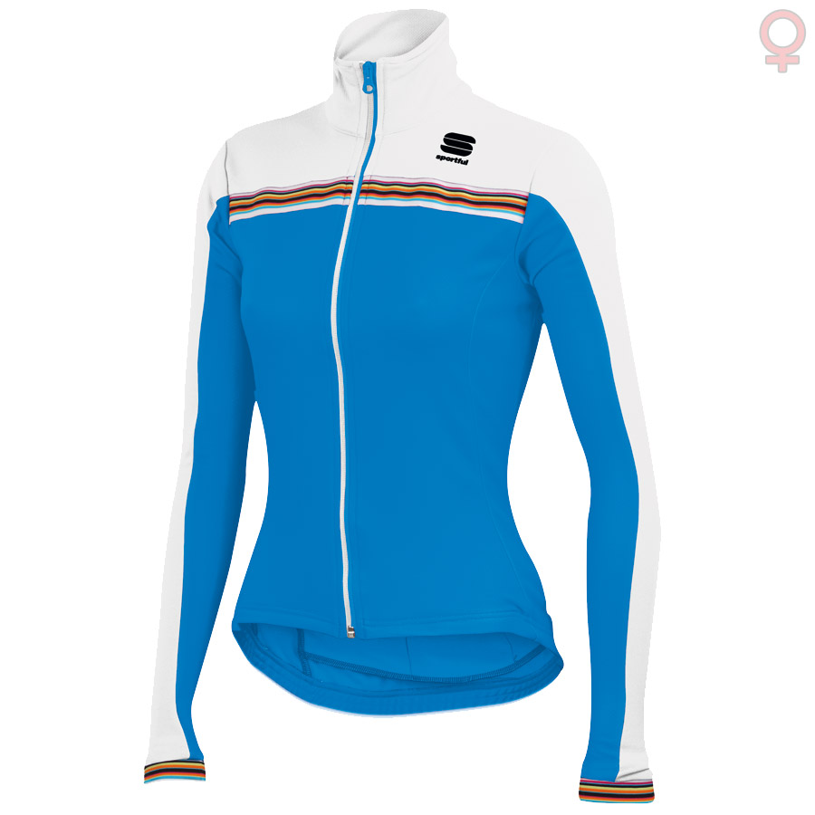 Donna Maglia M/L Sportful Allure 15 - Electric Blu